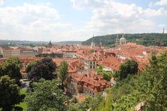 telhados Fotografia de Stock Royalty Free