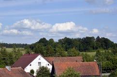 telhados Foto de Stock