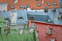 Telhados Imagens de Stock