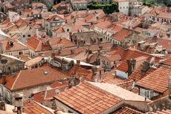 telhados Fotografia de Stock