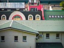 telhados foto de stock royalty free