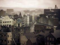 Telhados, Belfast Reino Unido fotografia de stock royalty free