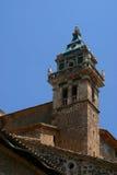 Telhados com uma torre Fotos de Stock Royalty Free