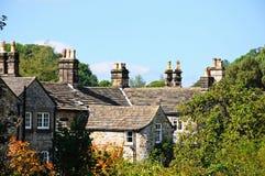 Telhados da casa de campo, Bakewell Imagens de Stock Royalty Free