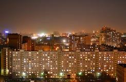 Telhados da cidade Imagem de Stock