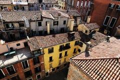 Telhados da terracota de Veneza, Itália imagem de stock royalty free