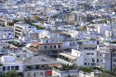 Telhados de Athenes Imagens de Stock
