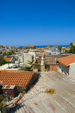 Telhados de Chania Foto de Stock Royalty Free