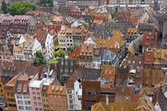 Telhados de construção telhados Imagem de Stock Royalty Free