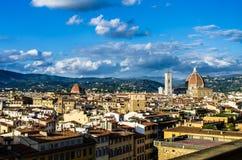 Telhados de Florença 4 Fotos de Stock