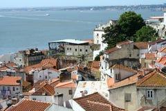 Telhados de Lisboa imagem de stock royalty free