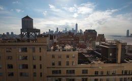 Telhados de Manhattan Fotografia de Stock Royalty Free