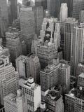 Telhados de New York City Fotografia de Stock