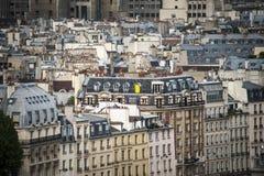 Paris vista de acima foto de stock
