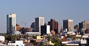 Telhados de Phoenix na baixa, AZ fotos de stock royalty free