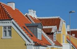 Telhados de Skagen Imagens de Stock