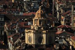 Telhados de Torino Foto de Stock Royalty Free