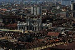 Telhados de Torino Fotografia de Stock