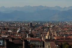 Telhados de Torino Imagem de Stock