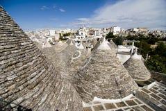 Telhados de Trulli Imagem de Stock Royalty Free