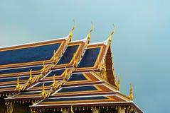 Telhados de Wat Phra Kaeo Foto de Stock Royalty Free