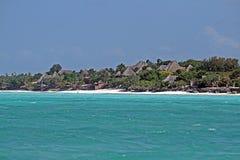 Telhados de Zanzibar fotos de stock