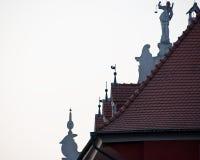 Telhados decorativos Fotos de Stock Royalty Free