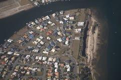 Telhados do bairro social Fotografia de Stock