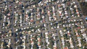 Telhados do bairro social Imagens de Stock
