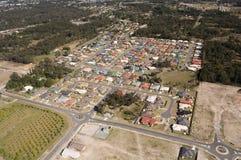 Telhados do bairro social Foto de Stock Royalty Free