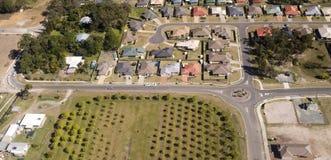 Telhados do bairro social Fotos de Stock Royalty Free