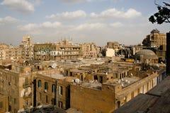 Telhados do Cairo do centro Imagens de Stock Royalty Free