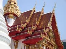 Telhados do tample de Banguecoque Foto de Stock Royalty Free