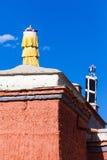Telhados do templo de Tuolin Imagem de Stock