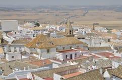 Telhados do villlage de Medina Sidonia Imagens de Stock
