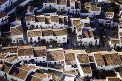 Telhados em Zahara Foto de Stock