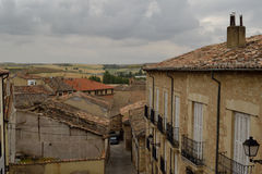 Telhados, Lerma, Espanha foto de stock