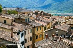 Telhados telhados fotografia de stock