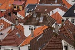Telhados telhados Imagens de Stock