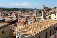 Telhados telhados da cidade velha Foto de Stock Royalty Free