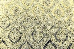 Telhas abstratas das texturas bonitas do close up e fundo de vidro preto escuro da parede do teste padrão da cor cor-de-rosa e pa imagem de stock royalty free