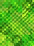 Telhas amarelas verdes do mosaico Imagem de Stock