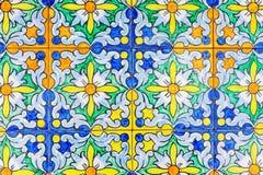 Telhas andaluzas tradicionais de Sevilha, Espanha imagem de stock