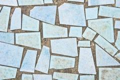 Telhas azuis Foto de Stock
