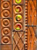 Telhas cerâmicas Foto de Stock Royalty Free