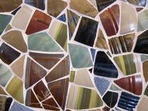 Telhas cerâmicas da parede Foto de Stock