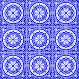 Telhas cerâmicas sem emenda 02 Foto de Stock Royalty Free