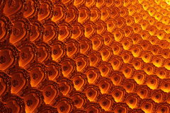 Telhas coloridas Foto de Stock