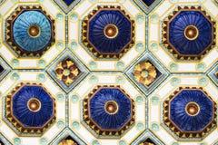 Telhas coloridas Imagens de Stock