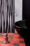 Telhas coloridas para a decoração do banheiro formas e cores para Bathro foto de stock